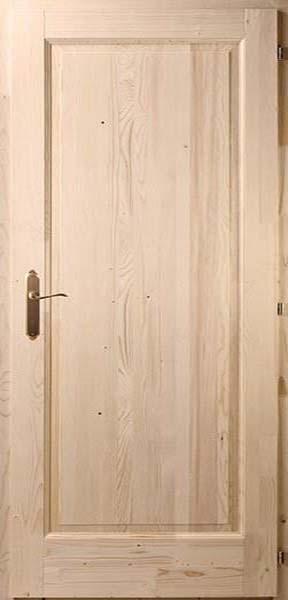 Egybetétes fenyő beltéri ajtó