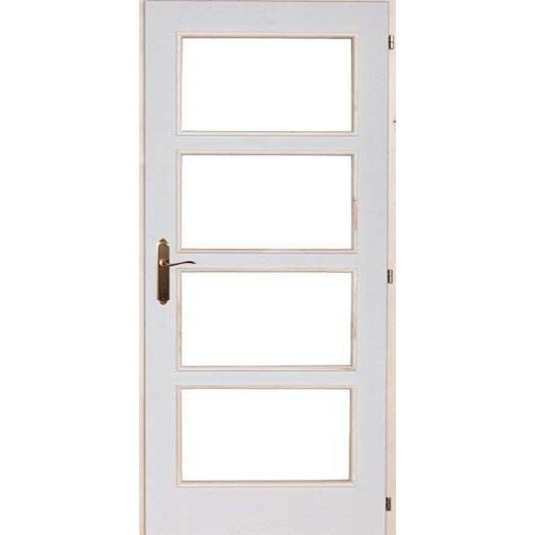 EFES HDF beltéri ajtó 100x210x5 üvegezhető
